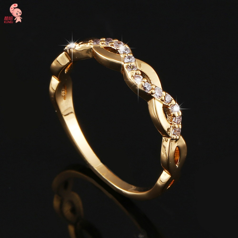 Fashion New Arrival Gold Plated Crystal Striking S Full Shining CZ