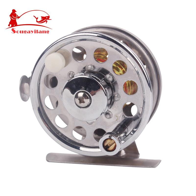 Cheap fly fishing reel 2bb 107g full meatal classic salmon for Discount fishing reels