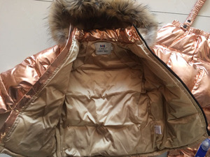 Image 5 - Rosja nowe zimowe zestawy ubrań dla dzieci chłopcy i dziewczęta biały puchowy kombinezon narciarski gruby 30