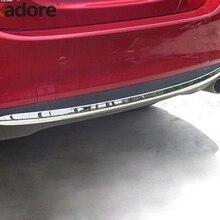 Для Mazda 6 Atenza хромированная Автомобильная Задняя Крышка багажника Накладка бампера нижняя задняя защита порога полоса внешний Стайлинг автомобиля