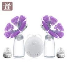Новые одиночные или двойные электрические молокоотсосы Электрический мощный всасывающий USB Электрический молокоотсос с двумя бутылочками для молока