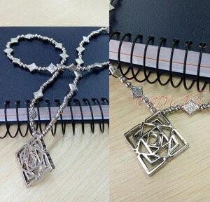 Кафиона, недорогой рыцарь-вампир, аксессуары для косплея, ожерелье куросукуран Юки, Ромб, подвеска, высокое качество