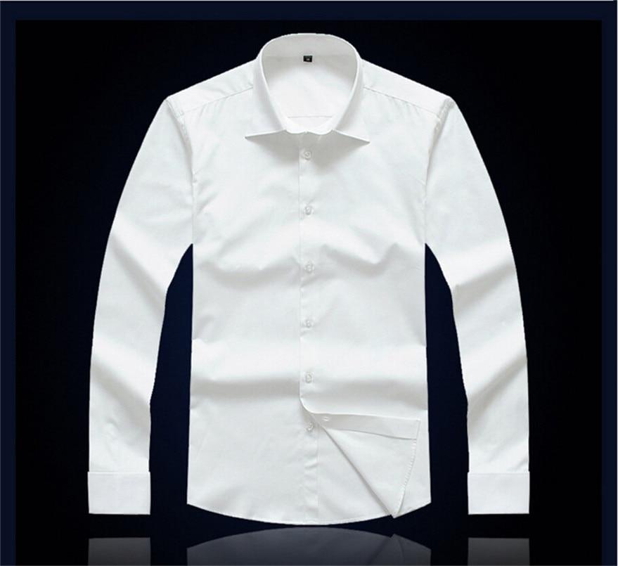 CARFANTE Herren Business Hemd Marke Langarm Twill Französisch - Herrenbekleidung - Foto 4