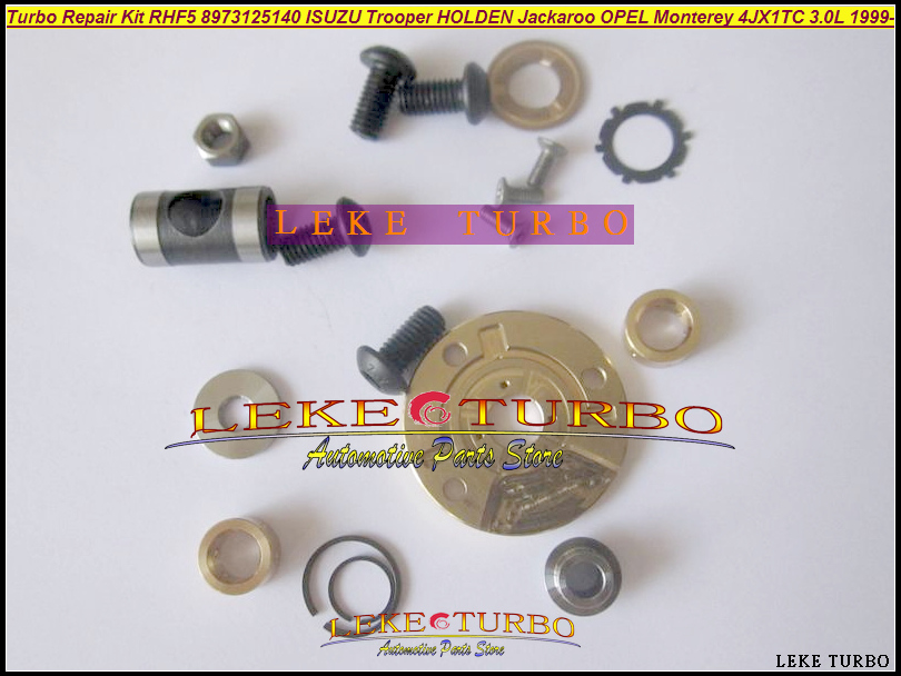 Free Ship Turbo Repair Kit Rebuild RHF5 8973125140 Turbocharger For Opel Monterey For ISUZU Pickup Trooper 98- 4JX1T 3.0L 157HP free ship turbo rhf5 8973737771 897373 7771 turbo turbine turbocharger for isuzu d max d max h warner 4ja1t 4ja1 t 4ja1 t engine