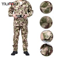 New Arrival Desert Outdoor Camouflage Uniform Tactical Men Army Military Uniform Combat Hunting Suit Training Jacket Pants