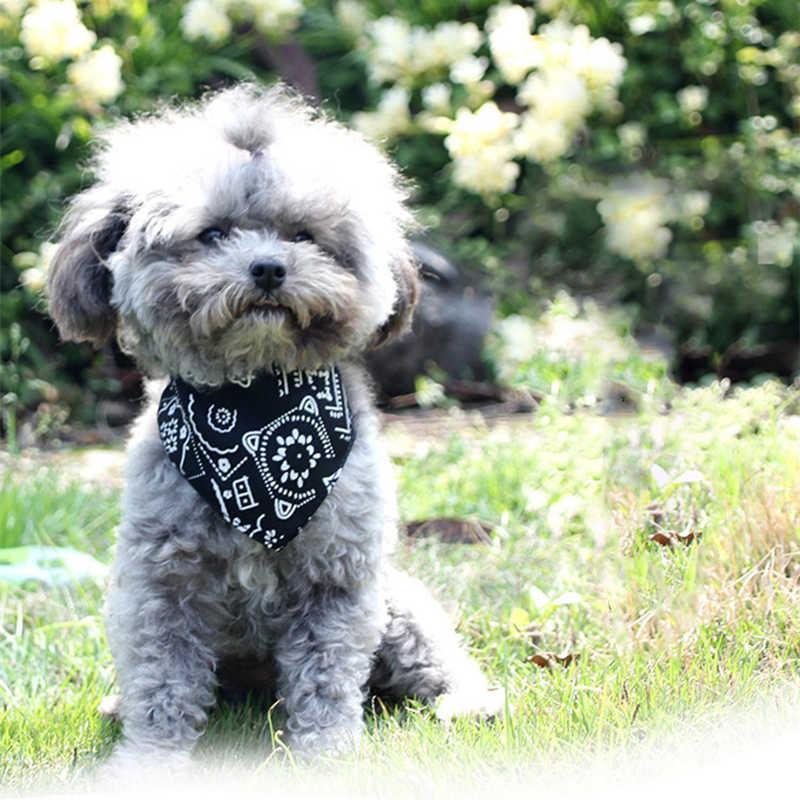 Нагрудники собака шарф воротник банданы Щенок Pet шарф водонепроницаемый слюнявчик полотенце для маленьких средних и больших собак регулируемый