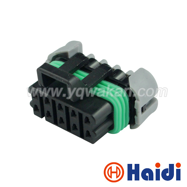 Free shipping 2sets delphi electric 10pin auto housing plug 12177081 waterproof plastic wire cable harness connector 12065425 kerui alarm accessories wireless remote switch smart power socket plug 433mhz home automation for iphone android phones hot new