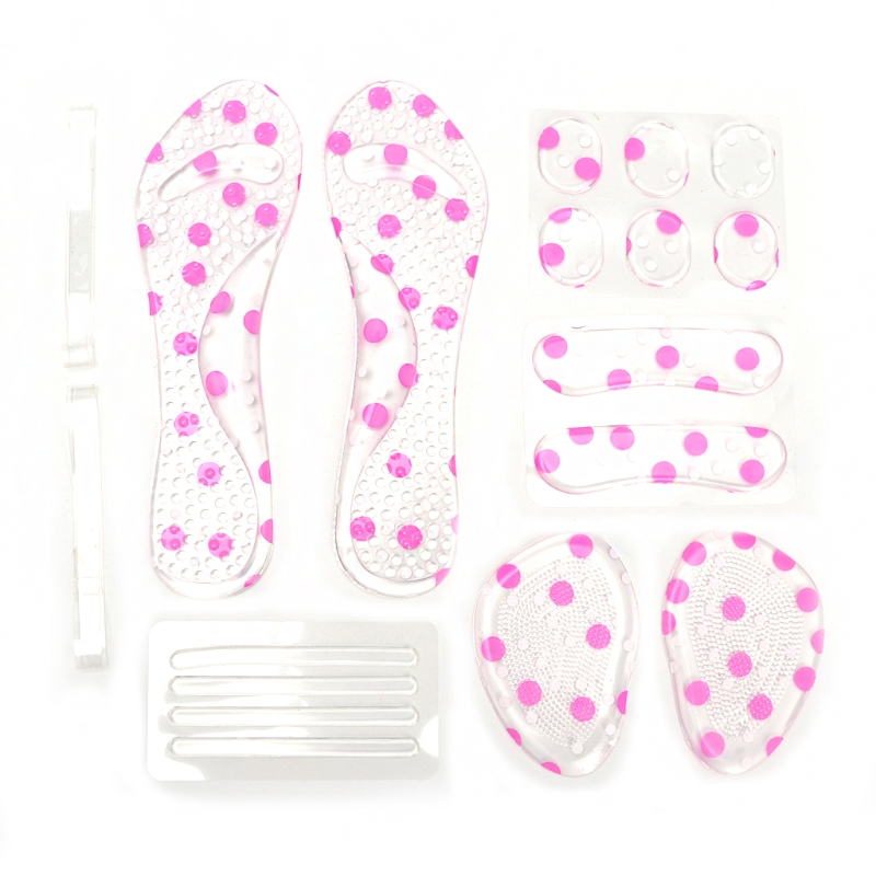 EYKOSI 6 Kinds /Set Women High Heel Shoes Silicone Insole Pad Foot Strips Foot Care KitEYKOSI 6 Kinds /Set Women High Heel Shoes Silicone Insole Pad Foot Strips Foot Care Kit