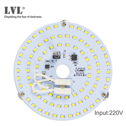 LED Panel Light 7W 10W 18W 25W 40W No Flicker AC 220V 230V for Ceiling Light Source replacement round Module Led