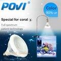 POVI Aquarium Led Lighting Full Spectrum Led Coral Reef grow light Lamp LED Bulbs E27 par30 18W