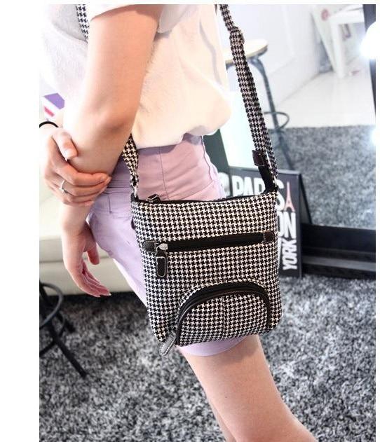 Korean Leisure Bag Retro Diagonal Summer Small Shoulder Hand Sen Female Denim Cloth