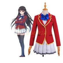 цена на Classroom of the Elite Anime Costume Horikita Suzune Cosplay Costume Kushida Kikyou Cosplay Brand School Uniform Girl