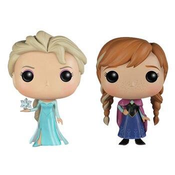 Funko POP Kawaii Frozen the Snow Queen Princess doll Anna Elsa Collection PVC Action Figure toys for children birthday Gift