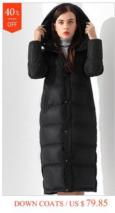faf8307ede0 Down Jackets Women Coat Winter Warm Extra Long Jacket Female Coats Black  Feather Parka Doudoune Outwear Hooded Clothing Garemay-in Down Coats from  Women s ...