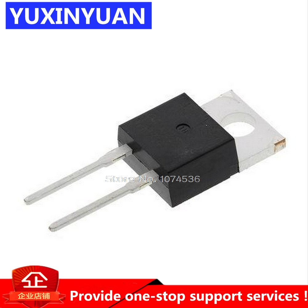 10PCS/LOT BYC8-600 BYC8 600 600V 8A Diode Fast Recovery Diode TO-220