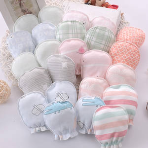 Baby Mittens Glove Infant Accessories Anti-Scratching-Gloves 100%Cotton Protection-Face