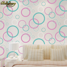 Circle Curve Stripe embossed metallic wallpaper modern dining room PVC wallpaper background wall wallpaper for living room printio obama obey