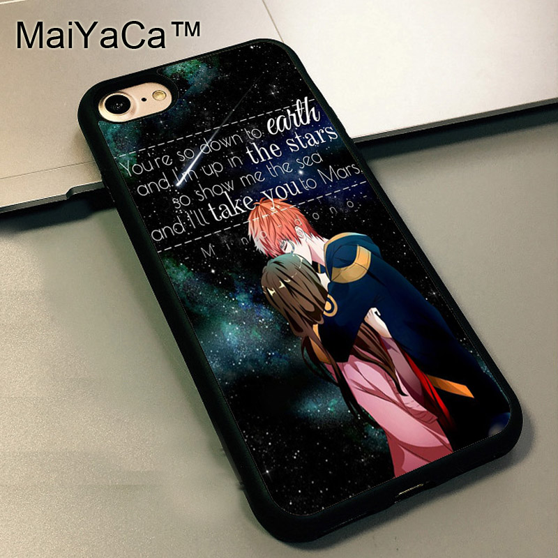 iphone 5 anime cases maiyaca mystic messenger anime quote back cover for 14469