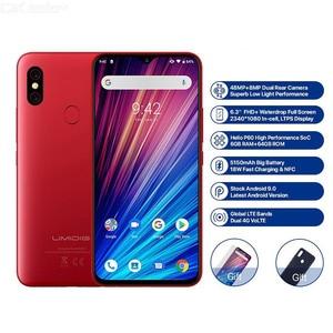 Image 3 - UMIDIGI F1 Play смартфон, 6 ГБ ОЗУ 64 Гб ПЗУ, 6,3 дюймовый экран FHD, глобальная версия, двойной 4G, 48 Мп + 8 Мп + 16 Мп, 5150 мАч, Android 9,0, мобильный телефон