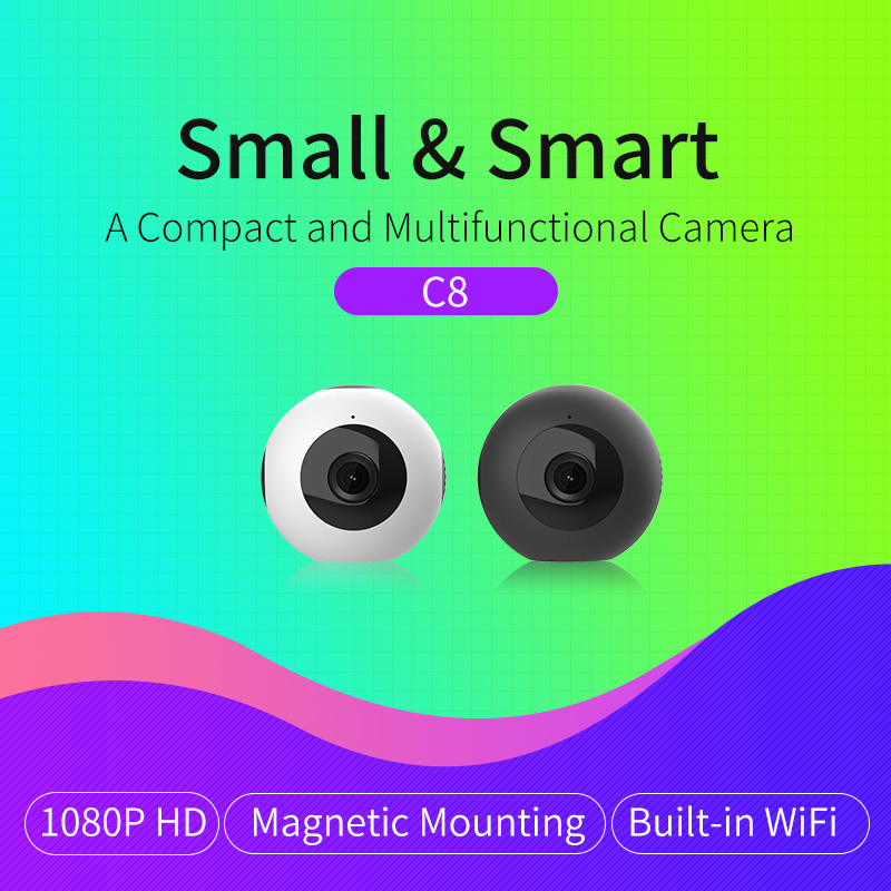 HD Video 1080P Camera Wireless Wi fi Video Surveillance Night Security Mini Camera Network Indoor Baby
