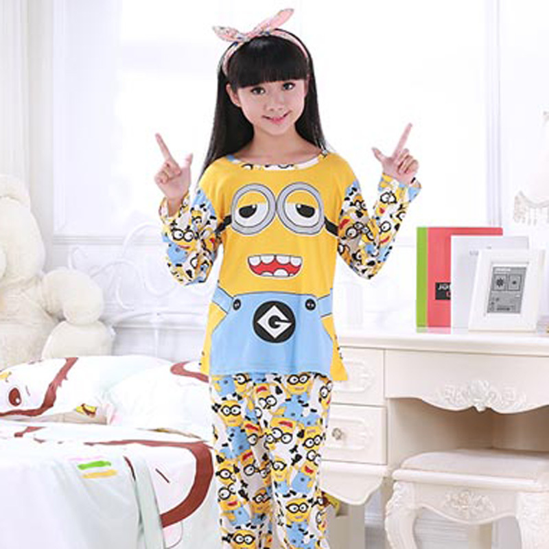 2018 autum winter Family style Children Pajama Long sleeve Cotton Kids cute Pijamas Set Sleepwear Boys Girls Pyjamas Home Wear ...