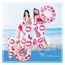 33cm teeth swimming ring Pool Floats Adult Super Large Gigantic Doughnut Inflatable Life Buoy Swimming Circle Ring