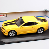 1/18 Scale large maisto Chevrolet 2010 camaro Muscle coupe die cast model automobile cars vehicles toys gift for adult Collector