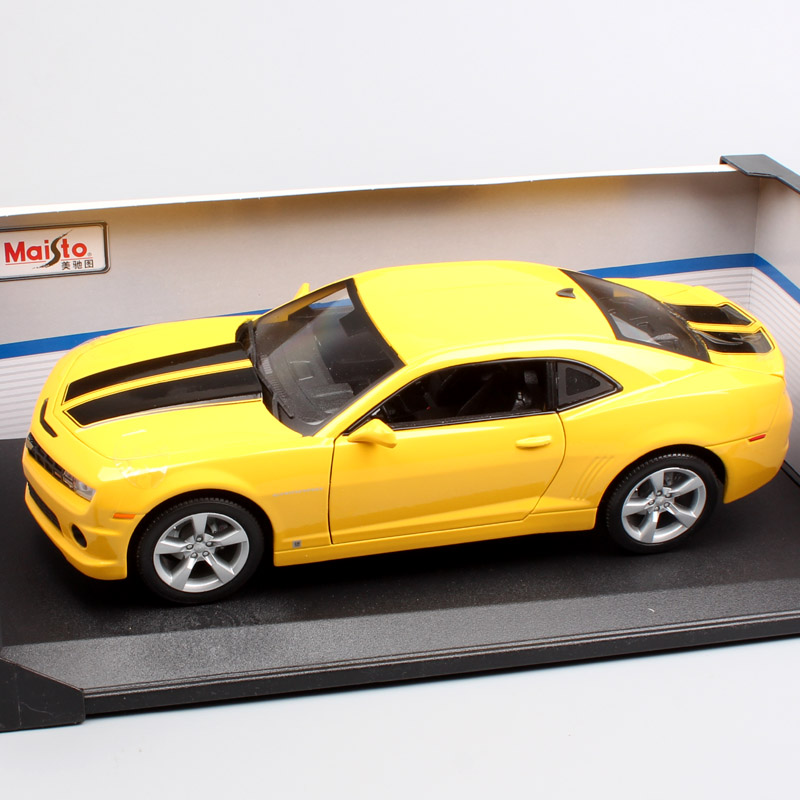 1/18 Scale large maisto Chevrolet 2010 camaro Muscle coupe die-cast model automobile cars vehicles toys gift for adult Collector 1 18 scale children brand miniature 300slr uhlenhaut coup vintage classic die cast cars styling metal model toys gifts for boys