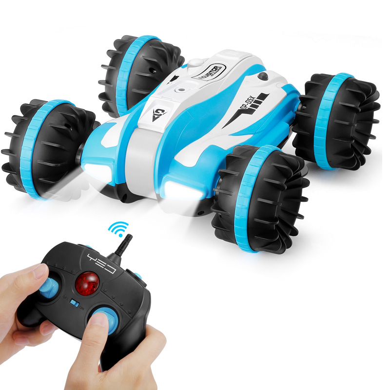 1 12 4Wd 2 4Ghz 6 Channel Rc Car Off Road Toys Rc Tank Amphibious Car 360 Degree Rotation Anti Impact And Anti Collision Vehic in RC Cars from Toys Hobbies