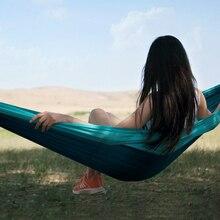 Youpin zaofeng hammock balanço cama pára quedas pano redes de carga máxima 300 kg para acampamento ao ar livre balanço viagem à beira mar