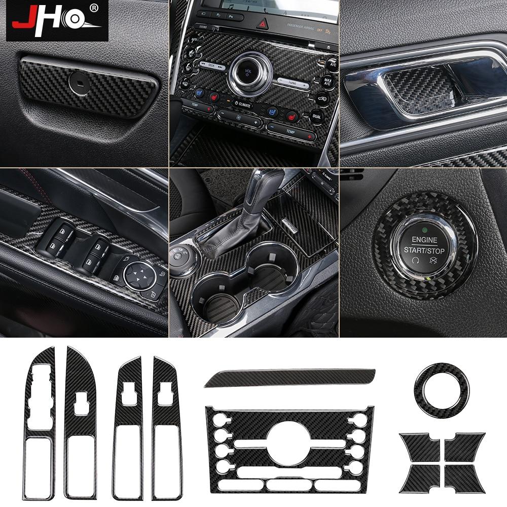 Buy jho real carbon fiber interior cover - 2013 ford explorer interior parts ...
