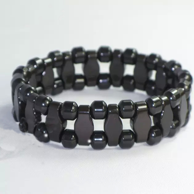 Whole Natura Black Tourmaline Energy Bracelet Health Germanium Benefits