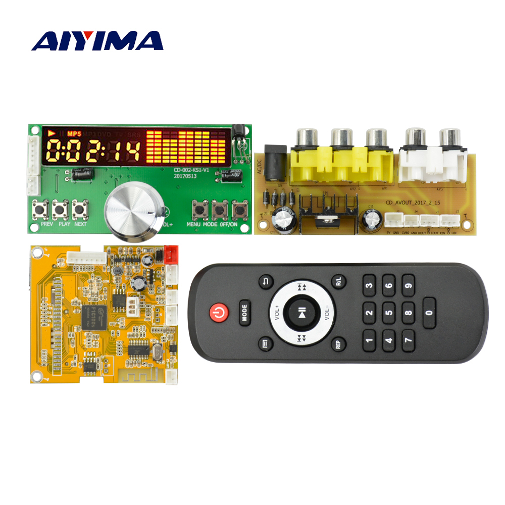 Aiyima DC5V DTS Lossless Decoding Board MP4 MP5 HD Video Decoder APE / WAV / MP3 Decode Board aiyima lcd lossless bluetooth decoder dts flac ape ac3 wav mp3 decoder board decode