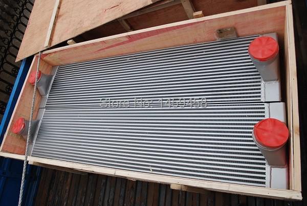 WJIER CompAir screw compressor air cooler radiator heat exchanger 100006283 wjier blt 7 bolaite screw compressor air cooler radiator heat exchanger 1625165924