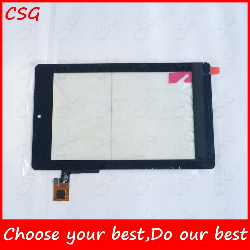 New 7 Tablet Campacitive Touch Screen for alcatel onetouch evo 7HD Touch Panel  Digitizer Glass Sensor new 10 1 tablet campacitive touch screen for 7214h70262 b0 touch panel for 7214h70262 b0 digitizer glass sensor