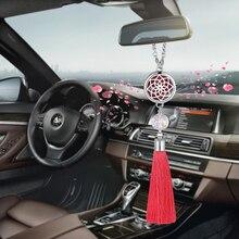Автомобильный освежитель воздуха, украшение для автомобиля, автомобильный парфюмерный диффузор, подвеска с кисточкой, висячие украшения, аксессуары для автомобиля G04
