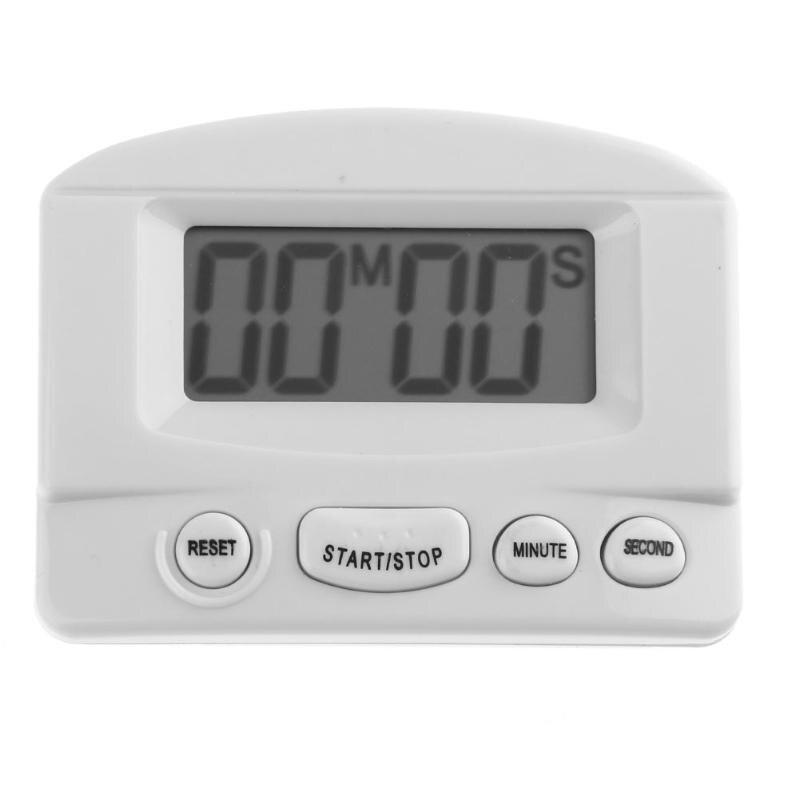 Universal Mini Digital Kitchen Cooking Countdown Sound Alarm Clock Student Test Rest Timer Magnetic Reminder