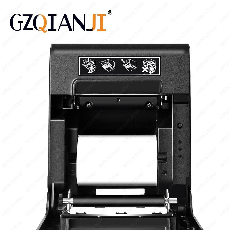 80 millimetri termica per Ricevute POS Bill stampante Bluetooth Wifi USB Porta della cucina POS Stampante con Taglierina Automatica Per Il sistema pos latte negozio di tè - 6