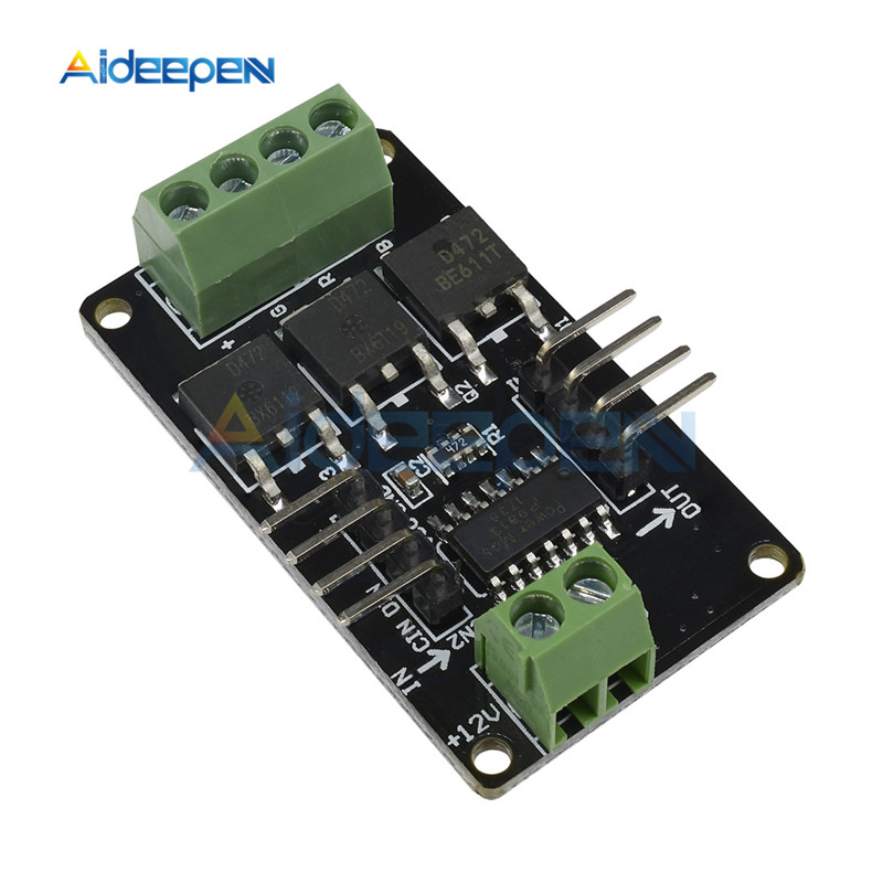 1Pcs LED Strip Driver Module V1.0 For Arduino UNO R3 For MCU System For Arduino STM32 AVR 12V DC 5V MCU Full Color RGB Board One