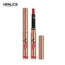 HENLICS 2018 Long Lasting Waterproof Velvet Matte Lipstick Pen Gloss Lip