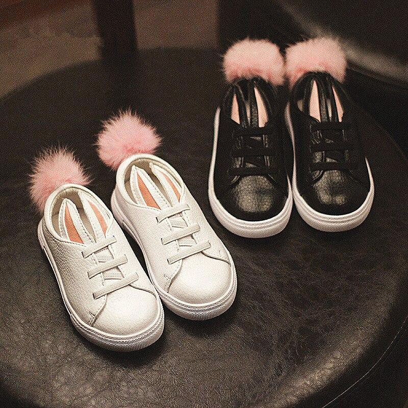 Hase Prinzessin Mädchen Niedlichen Kaninchen ChaussuresPompon TK1lFJc3