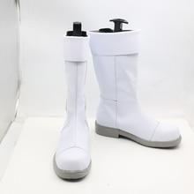 My Hero Academia Todoroki Shoto White Anime Cosplay Shoes Boots Superhero Halloween Carnival Party Costume Accessory