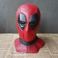 Superhero Movie Cheap Deadpool 2 Mask Cosplay Costumes Accessories Latex Hoods Halloween Props