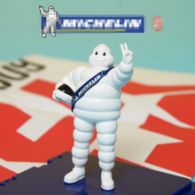 New Carton Standing Vinly Figure Michelin Tire lovely Doll White Fat Included in Base