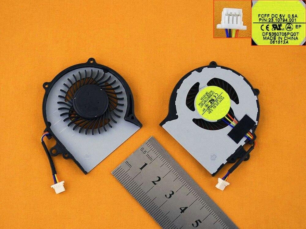 Новый ноутбук вентилятор охлаждения для Acer Aspire v5-122p оригинальный PN: DFS350705PQOT 23.10794.001 FCFF процессор кулер