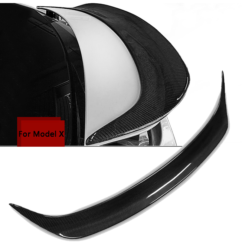Performance Style Rear Carbon Fiber Trunk Spoiler Boot Lip
