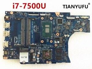 Image 1 - Dell の 5567 5767 ノートパソコンのマザーボード BAL20 LA D801P CN 0VMRRP CN 0KFWK9 DDR4 SR2ZV I7 7500U R7 M445 マザーボードテスト 100%