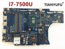 For DELL 5567 5767 Laptop motherboard BAL20 LA D801P CN 0VMRRP CN 0KFWK9 DDR4 SR2ZV I7 7500U R7 M445 Motherboard  tested 100%