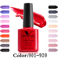 #61508 Free Shipping Nail Art Design Manicure Venalisa New 60 Color 7.5Ml Soak Off Gel Polish LED UV Gel Nail Polish Gel Lacquer