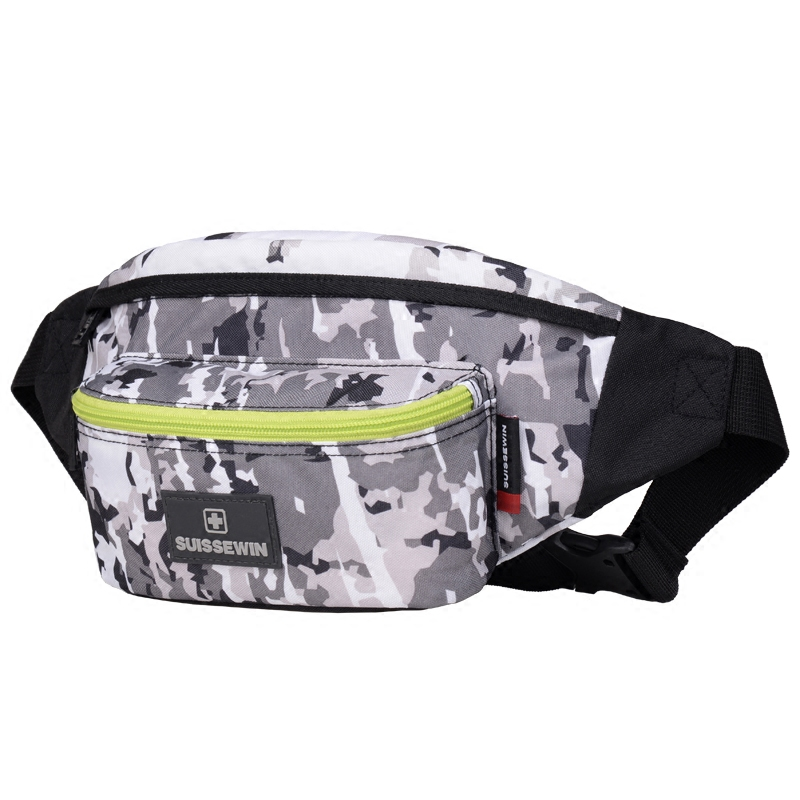 377a957c576 Suissewin Supreme Waist Pack Women Small Femme Girls Chest Bag Money Belt  Bag Camouflage Belly Bag Black Blue